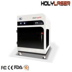 Gravure laser 3D cube de verre gravés de cristaux de prix de gros de la machine