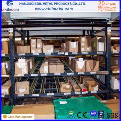 Tuyau de l'équipement d'entrepôt de stockage personnalisée Carton Flow Rack
