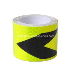 "Fashion 2""X10"" 3m Arrow Reflective Safety Waarschuwing Opvallende Tape"