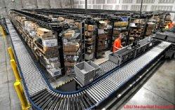 Guardar trabajo ampliamente usada cinta transportadora de acero inoxidable