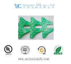 Mehrschichtige gedruckte Schaltkarte für Mikrowellenherd mit grüner Lötmittel-Schablone