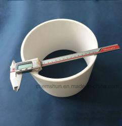 Pijp van de Buis van het Oxyde van het aluminium de Ceramische voor de Oplossing van de Weerstand van de Slijtage