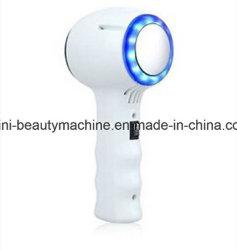Nosotros la luz LED azul de mano caliente y fría / caliente piel de un martillo de levantar el equipo de belleza