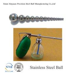 AISI304L/SUS304L SS304L bolas de acero inoxidable para pulverizadoras G500 7.938mm 6mm 5/16 pulg.