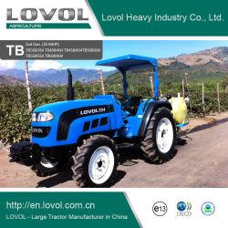 Foton Lovol 30-60HP Mini tractores de jardín agrícola Granja Diesel