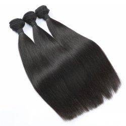 10А бразильский прямой 100% волос человека Weft Черный оптовая торговля