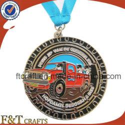 Medalla de metal personalizados / Medallón diseñe su propio logotipo con la cinta