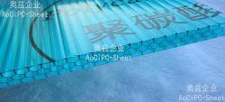 2016 صفحة Zhejiang Aoci Anti-Fog PC Hollow للقناة
