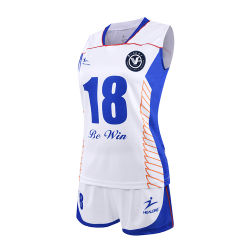 Engrenagem de vestuário em branco Healong Sublimação Voleibol grossista barata Camisolas Personalizadas