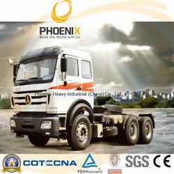 420HP / 380HP Beihen Powerstar Tractor Truck Ng80 6x4 North Benz のプロフェッショナルな供給メルセデス . ベンツの技術 Scaina トラックに競争力を持っています