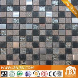 Varanda em aço inoxidável de parede, pedra e vidro Diamante Mosaic (M823046)