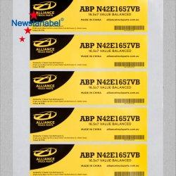 Hoher Kosten-Leistungs-Fachmann passen das anhaftende Drucken an, das PET Haustier-Papier-Vinylaufkleber pp.-BOPP verpackt