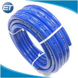 Tubo flessibile pneumatico Braided flessibile di gomma della bobina della presa del compressore d'aria del PVC