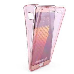 360 voller TPU Doppelt-Entwurfs-transparenter Handy-Fall für beweglichen Papiereinband der Samsung-Galaxie-Anmerkungs-5