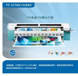طابعة INFINITI مذيب Challenger FY-3278n FY-3278A+ مع 8 PCS Seiko Spt510/50 pl رؤوس الطباعة
