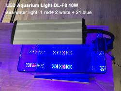 Аквариум рыб и индикатор резервуара для воды индикатор Clip - на белый/синий красная лампа морской по мере роста предприятия
