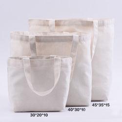 Reutilizáveis de algodão ecológico de lona de algodão Sacola grande galpão de lona, Sacola de Compras, Tote Sacola de Compras
