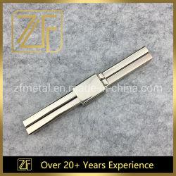 La lumière de l'or Handbag Flip verrouille le clip métallique avec crochet de barre droite