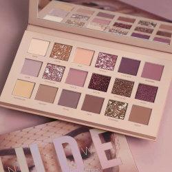 18 couleurs de la beauté nue fard à paupières mat Palette ombres à paupières cosmétique