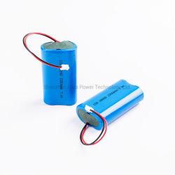 A fábrica 18650 personalizáveis 2s1p 3s1p 2s2p 4s1p 7,4V 11,1V 14,8 V 25.2V Bateria de lítio para médicos electrónicos