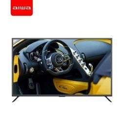 D18 55-дюймовый телевизор с плоским экраном Aiwa Ультратонкий Android Smart UHD 4K ЖК телевизор со светодиодной технологией, HiFi музыку ТВ