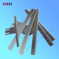 Forma Vertical de la Junta de relleno de las cuchillas cuchillas dentadas en el embalaje