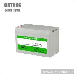 batteria solare del gel 150ah/litio per il cambiamento solare dell'indicatore luminoso di via del LED