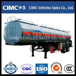 Cimc Verwendete Aluninum Fuel Oil Water Adr Tank Bitumen Asphalttanker