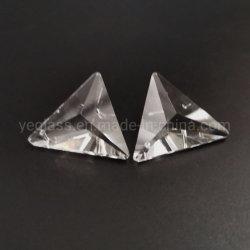 도매 수정같은 삼각형은 유리 구슬에 꿰맨다
