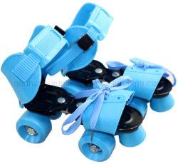 OEM-ПВХ колеса мягкий провод фиолетового цвета верхней Двухрядным роликовые коньки