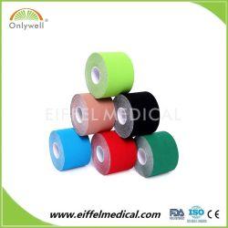 Deportes Fútbol Baloncesto el músculo de la terapia de soporte de cinta de fisioterapia Ortopedia Kinesiología