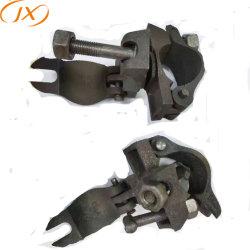 Fundição de ferro andaimes braçadeira dupla / Engate Giratório para Tubo de Aço
