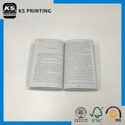 Лучшая цена высокого класса C1s матовая бумага мелованная бумага с покрытием четыре цветной печати Softcover