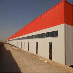 Preço barato Fácil montagem pré-fabricadas de materiais de construção Construção Metálica de fabricação de aço da estrutura de aço para construção de Hangar/Storage /oficina/armazém