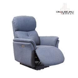 Sala Escura único tecido do assento Sofá