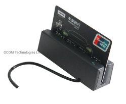 작은 USB RS232 강타 직불 카드 MSR Mni 카드 판독기