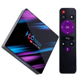 2019 Caixa de televisão H96 Max Rk3318 Android Market 9.0 Caixa de TV 4 GB de RAM 32GB ROM Ott 9.0 com núcleo quádruplo, 4K