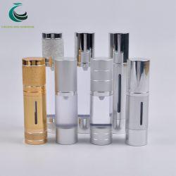 Frascos de perfume de cilindros de alta calidad con bomba atomizadora PP