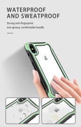 重量のタイプにiPhoneのための極度のグリップの感じおよび感じの出現デザイン電話箱の携帯電話の箱が6~7/8 Xr/Xs/iPhone11、電話箱TPU+PC 2+1ある