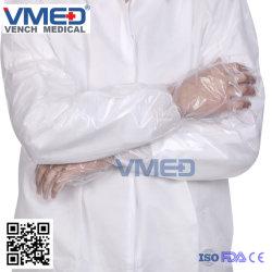 Одноразовые пластиковые хирургических PE Arm перчатки, питание с помощью Перчатки медицинские поставки пластиковых длинной втулки рычага в полном объеме рабочие перчатки, защитные перчатки промышленности
