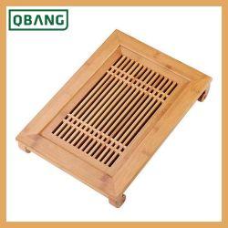 Il cassetto di tè ecologico di bambù cinese con incide