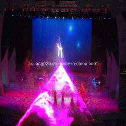 Hoher Standard Innen-RGB 12.7W Laserlicht-Stadiums-Laser