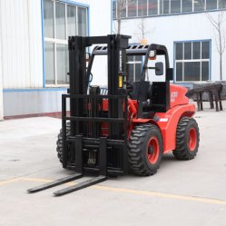 2 тонны 3 тонны 5 тонн все неровности местности вилочный погрузчик с двигателем Euroiii