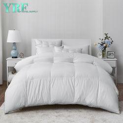 Hôtel de luxe Feather la preuve de la Courtepointe Twin XL 100% coton blanc