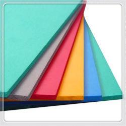 Высокая плотность жесткой штампованного белый/Черная ПВХ пенопластовый лист