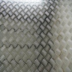 1&5 Bar / feuille en aluminium gaufré de stuc pour la construction