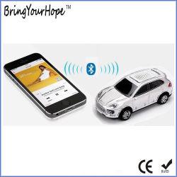 Forme de voiture Crystal Mini haut-parleur Bluetooth avec des voyants LED (XH-PS-696)