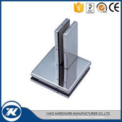 Acero inoxidable 304 Cristal inox de 90 grados de la esquina de Clip 6-10mm Balastrade Abrazaderas de cristal
