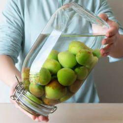 Vaso di vetro rosso del vaso degli enzimi dell'alimento della bottiglia della salsa di passione del vaso di /Sealed della bottiglia di vino del Bayberry/vino dei sottaceti