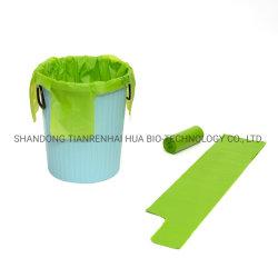 Sacchetto di immondizia biodegradabile domestico di sigillamento della stella del sacchetto di rifiuti